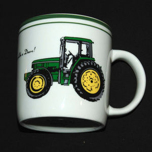 John Deere Ceramic Coffee Tea Cup Mug Licensed